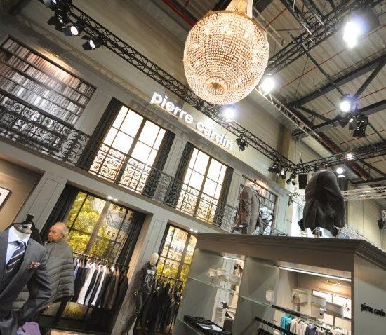 Kroonluchterverhuur Berlin Fashion Week 550x478
