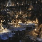 Dekoration Hochzeit mit Kronleuchter