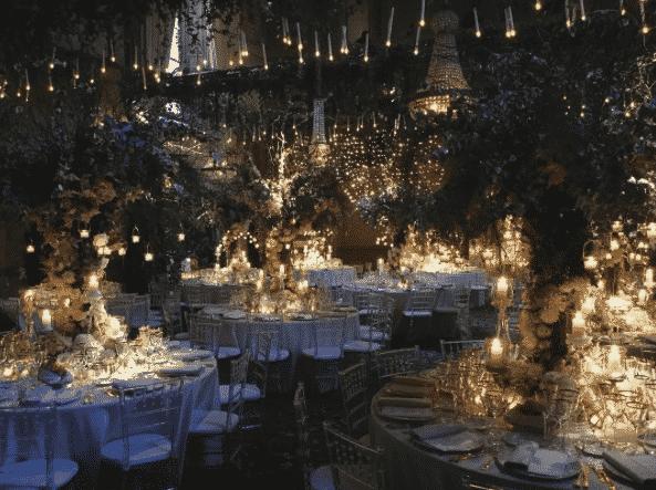 Kronleuchter für Hochzeit in Florenz