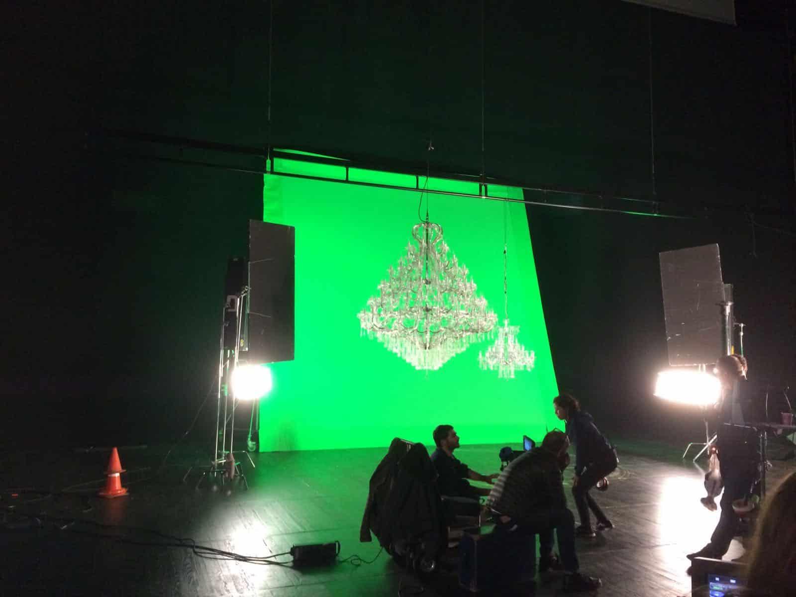 Filmproductie Madrid 2