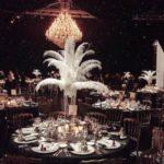 Kronluechter Dekoration Great Gatsby fest zu Mieten