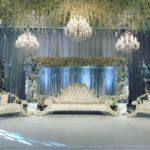 Dekoration Hochzeit Mieten mit Kristall Kronleuchter