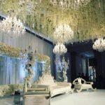 Beleuchtung und Dekoration Hochzeit Mieten mit Kronleuchter