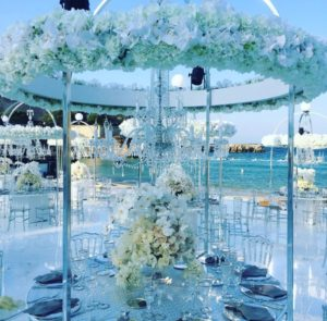 Kristall Kronleuchter zu Mieten Hochzeit