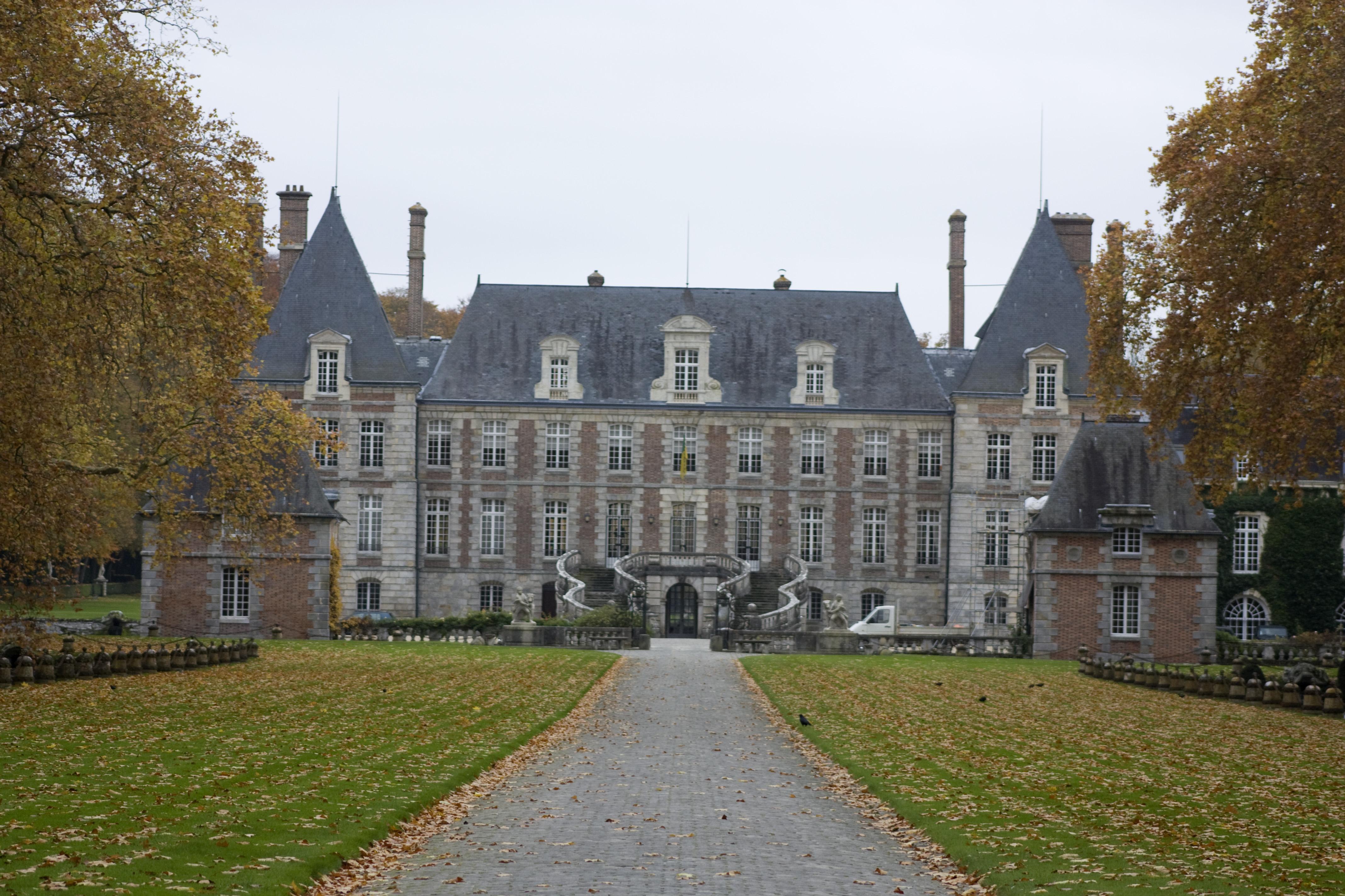 Kronleuchtervermietung Kronleuchter Als Dekoration Chateau Courances